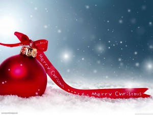 Merry Christmas Background for PowerPoint